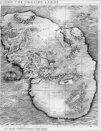 Lord Of The Rings Map Tolkiens Legendarium What Is In The East Of Middle Earth And