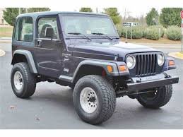 jeep wrangler dark grey 1999 jeep wrangler for sale classiccars com cc 932352