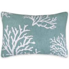 Pillows At Bed Bath And Beyond Buy Aqua Throw Pillows From Bed Bath U0026 Beyond