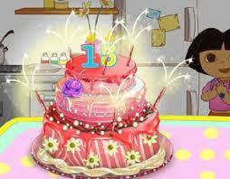 play free dora cake