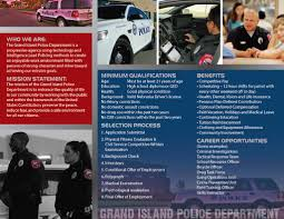 join the grand island police department city of grand island ne