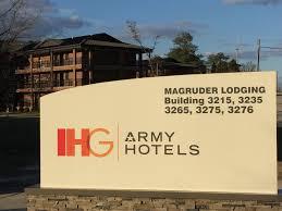 South Carolina travel rewards images Ihg army hotels magruder transient area on fort jackson