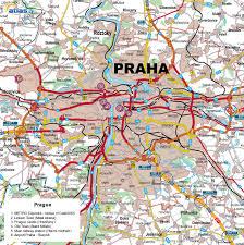 Map Of Czech Republic Prague Czech Republic Tourist Map Prague Czech Republic U2022 Mappery