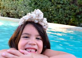 halloween crowns and tiaras how to make shell tiaras for a mermaid hgtv