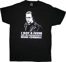 snl saturday night live christopher walken more cowbell black t