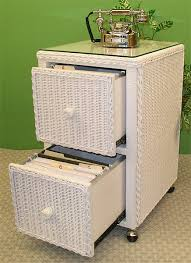 White Filing Cabinet 2 Drawer 2 Drawer Wicker File Cabinet