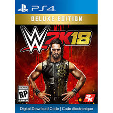 wwe 2k18 deluxe edition ps4 digital download playstation 4