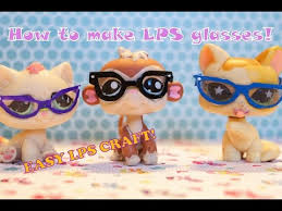 Lps Help Desk How To Make Lps Nerd Glasses Easy Lps Craft Youtube Littlest