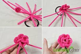 flower bands how to make a flower hair band with chenille stems pandahall
