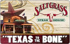 restaurant gift card saltgrass steak house restaurant gift card