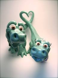 t rex dinosaurs in love custom animal wedding cake topper