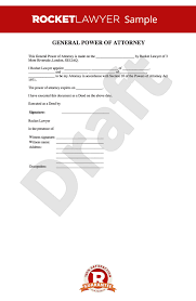 power of authority template of attorney poa free general power of attorney form