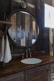 Wood Bathroom Mirror by Bathroom Marvelous Bathroom Design With Round Bathroom Mirror