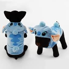 dog halloween costumes 2017 2017 cute stitch pet halloween costume dog winter warm clothes