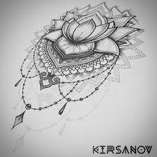 lotus mandala tattoo tattoo pinterest lotus mandala tattoo