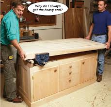 Woodworking Workbench Top Material by Aw Extra Dream Workbench Popular Woodworking Magazine