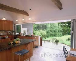 Indoor Outdoor Patio Indoor Outdoor Spaces With Glass Walls By Nana Wall Kitchen