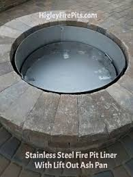 Fire Pit Liner by Fire Pits U0026 Spark Screens Higleystainlesssteel Com Stainless Steel