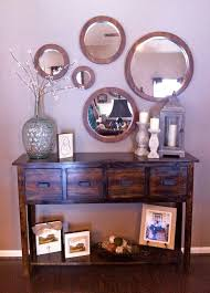 Entrance Tables And Mirrors Mirrors Stunning Set Of Three Mirrors Set Of Three
