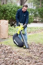 portable leaf blower mulcher vacuum 40v gardener u0027s supply