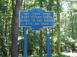 in the woods in the wood murders pine grove furnace