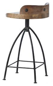 Industrial Metal Bar Stool Stool Awful Metal Bar Stools With Wood Seat Pictures