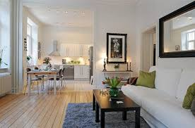 open floor plan condo swedish 58 square meter apartment interior design with open floor