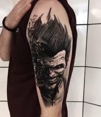tattoo pictures joker shoulder joker tattoo best tattoo ideas gallery