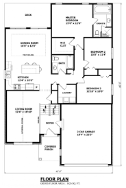 Garage Floor Plans Free House Plans Canada Raised Bungalow Homes Zone