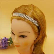 s headbands aliexpress buy 1pcs women s wide blingbling elastic sparkly