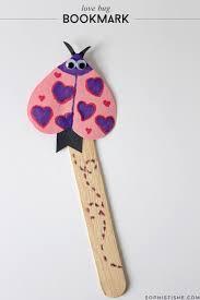 diy valentine u0027s day love bug bookmark arts u0026 crafts valentine u0027s day