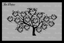 family tree 15 names svg dxf eps png by design bundles