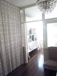 Floor To Ceiling Tension Rod Room Divider Articles With Room Divider Curtains Drapes Tag Room Dividers