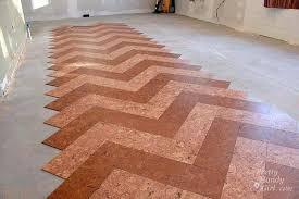 installing cork tile flooring in the kitchen pretty handy