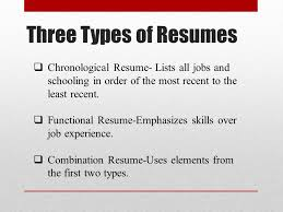 Job Experience Resume by Basic Resume Writing Ppt Download