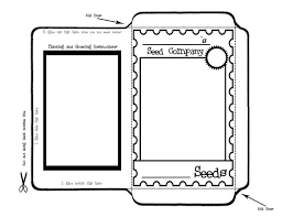blank seed packets free seed packet printables to use for the flower garden