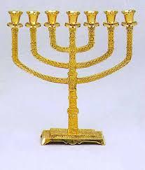 menorah 7 candles hanukkah menorahs 7 branch menorahs bazaar