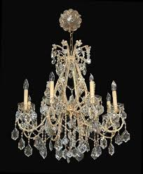 French Chandelier Antique Antique French Beaded Crystal Chandelier Latique Antiques