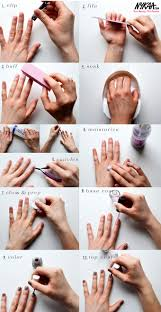 how to do manicure and pedicure step by step manicure