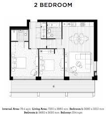 bedroom floor plan royal wharf floor plans