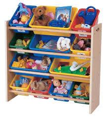 tot tutors kids u0027 toy organizer with storage bins primary colors