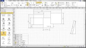 visio 2010 dimensioning tutorial youtube