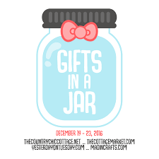 get organized gift in a jar yesterday on tuesday