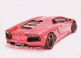 lamborghini car drawing lamborghini aventador scherbatyuk pavel draw to drive