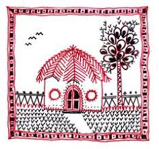 Warli Art Simple Designs Out Of The Box Ideas When Warli Painting Art Goes Beyond Walls