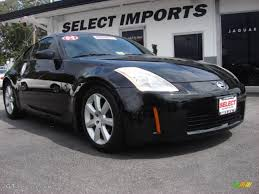 Nissan 350z Horsepower - 2004 super black nissan 350z coupe 54418290 gtcarlot com car