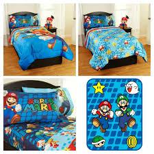 Mario Bedding Set Mario Comforter Set