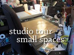 crafting studio tour small spaces youtube