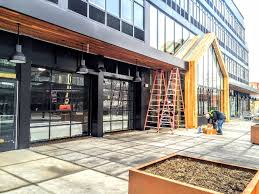garage glass doors finest doorman blog loading dock new jersey new york rollup