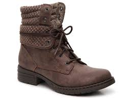 womens boots dsw b o c karel combat boot s shoes dsw